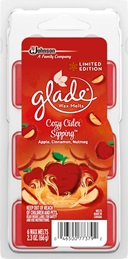 Glade® Waxmelts - Cozy Cider Sipping