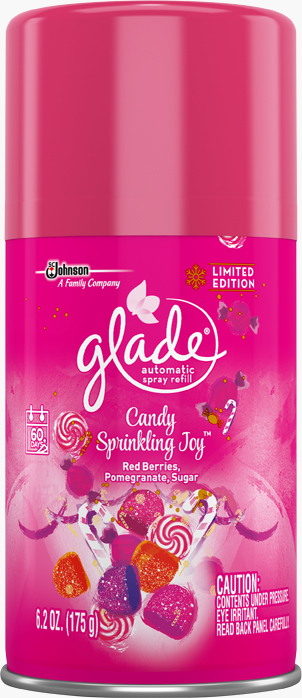 Glade® Automatic Spray Refill - Candy Sprinkling Joy