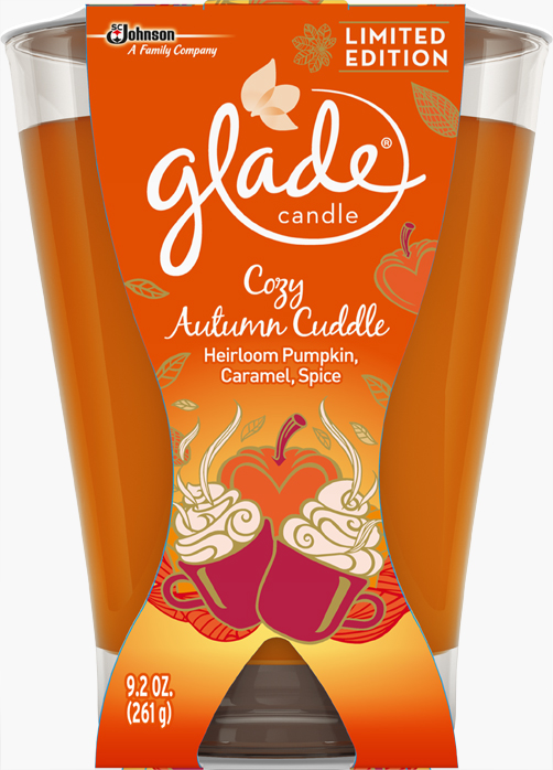 Glade® Large Candle - Cozy Autumn Cuddle