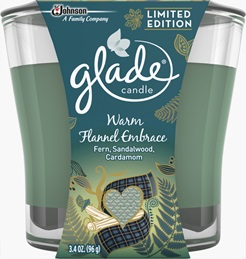Glade® Candle - Warm Flannel Embrace