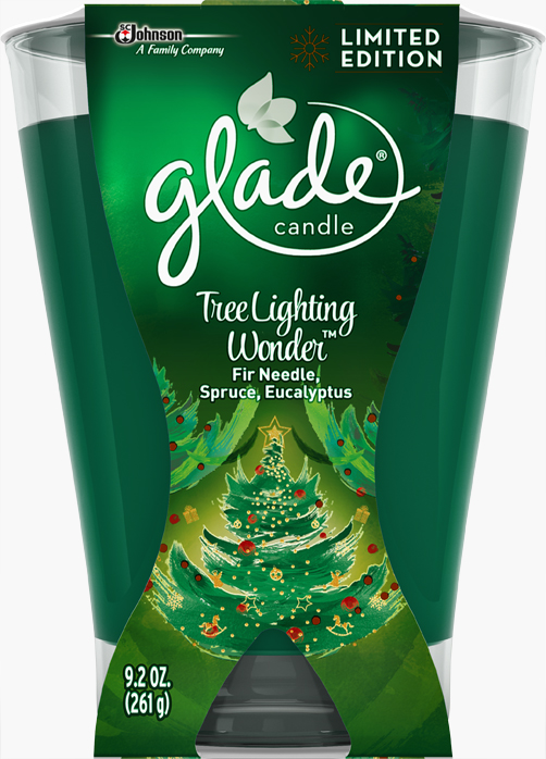 Glade® Large Candle - Tree Lighting Wonder