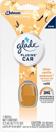Glade® PlugIns® Car Sheer Vanilla Embrace