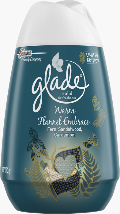 Glade® Solid Air Freshner - Warm Flannel Embrace