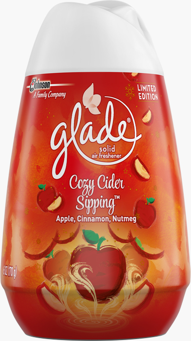 Glade® Solid Air Freshner - Cozy Cide Sipping