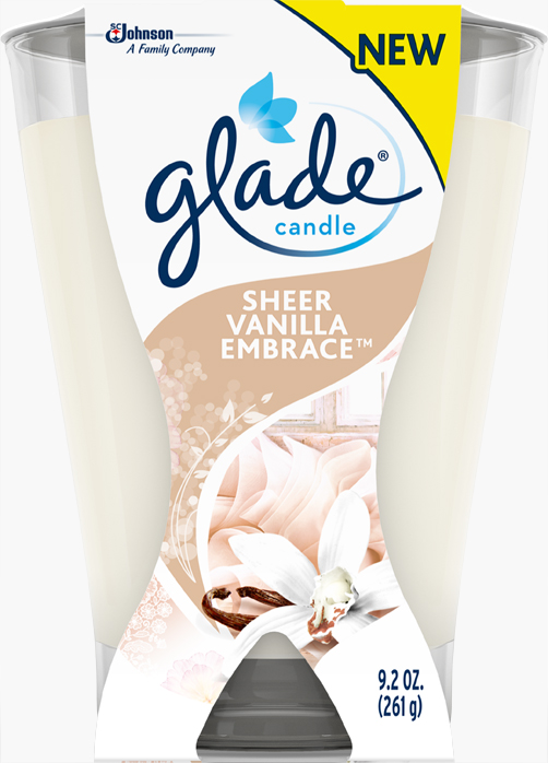 Sheer Vanilla Embrace Large Candle