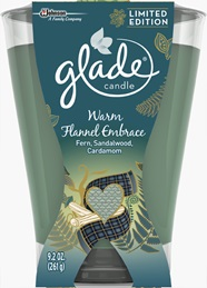 Glade® Large Candle - Warm Flannel Embrace