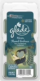 Glade® Waxmelts - Warm Flannel Embrace