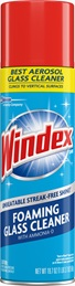 Windex® Foaming Glass Cleaner Aerosol