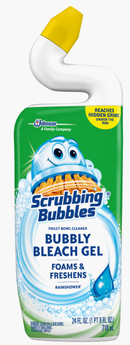 Scrubbing Bubbles® Bubbly Bleach Gel Toilet Bowl Cleaner - Rainshower®