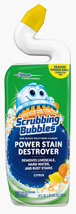 Scrubbing Bubbles® Power Stain Destroyer Toilet Bowl Cleaner - Citrus