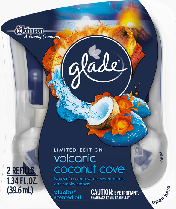 Glade® PlugIns Scented Oil Refills - Volcanic Coconut Cove