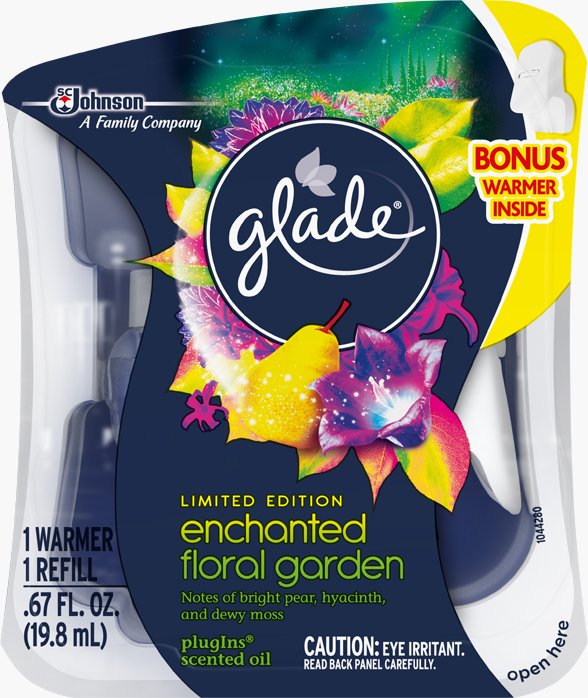 Glade® PlugIns Scented Oil Refills - Enchanted Floral Garden