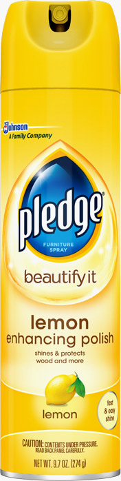 Pledge® Lemon Enhancing Polish