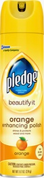 Pledge® Beautify It Orange Enhancing Polish