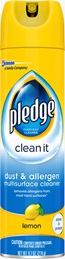 Pledge® Clean It Dust & Allergen Multisurface Cleaner