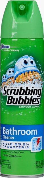 Antibacterial Scrubbing Bubbles 174 Xxi Bathroom Cleaner