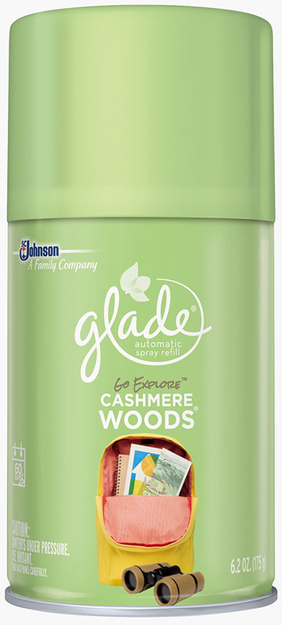Automatic Spray Refill - Go Explore Cashmere Woods