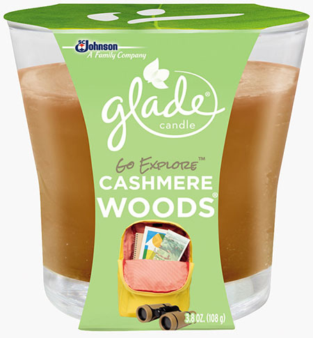 Candle - Go Explore™ Cashmere Woods®