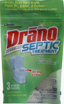 Drano® Advanced Septic Treatment