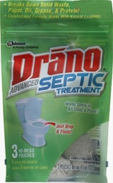 Drano® Advanced Septic Treatment (Discontinued)