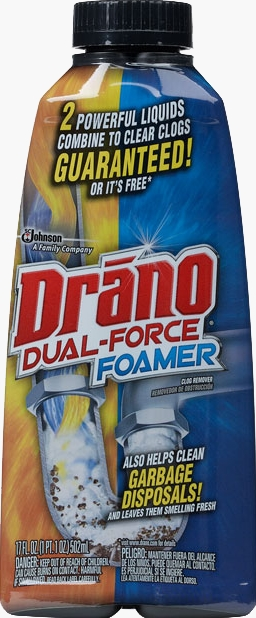 Drano® Dual Force® Foam