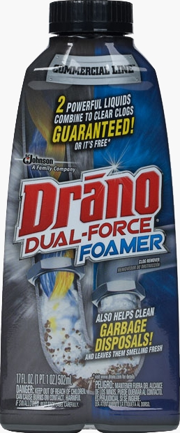 Drano® Max Commercial Line™ Dual Force® Foam