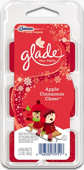 Glade® Wax Melts - Apple Cinnamon Cheer™