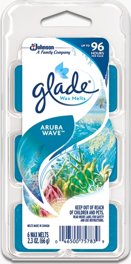 Glade® Wax Melts - Aruba Wave™