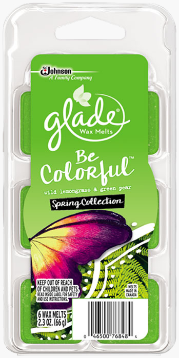 Glade® Wax Melts - Be Colorful