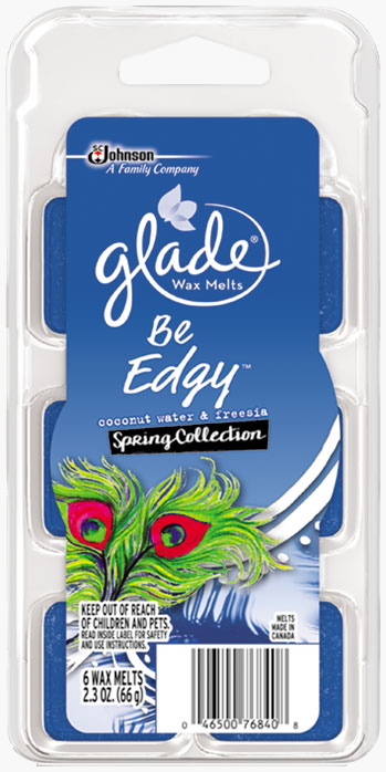 Glade® Wax Melts - Be Edgy