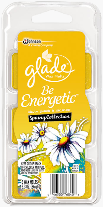 Glade® Wax Melts - Be Energetic