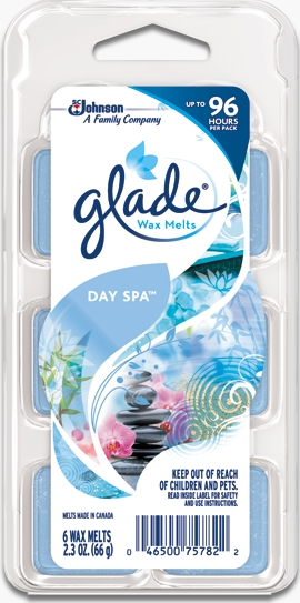 Glade® Wax Melts - Day Spa™