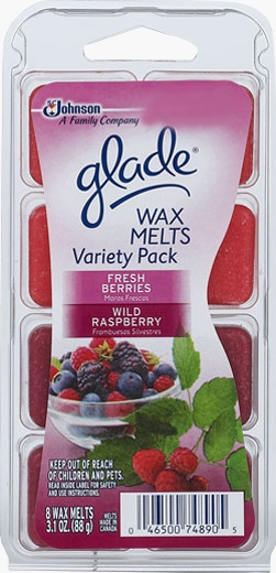 Glade® Wax Melts - Fresh Berries and Wild Raspberry