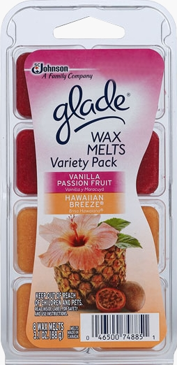Glade® Wax Melts - Hawaiian Breeze® and Vanilla Passion Fruit