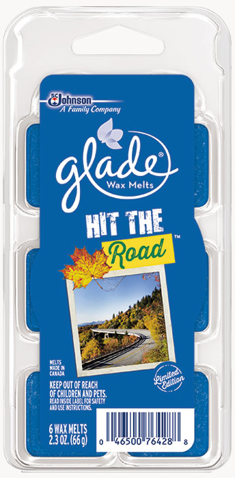 Glade® Wax Melts - Hit the Road™
