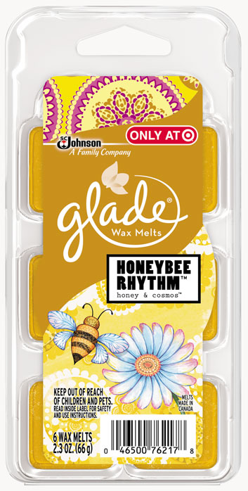 Glade® Wax Melts - Honeybee Rhythm™