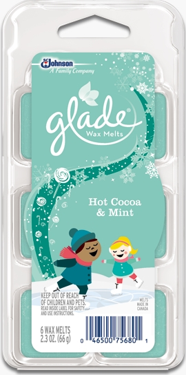 Glade® Wax Melts - Hot Cocoa & Mint