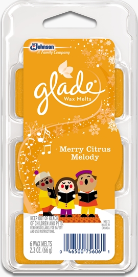 Glade® Wax Melts - Merry Citrus Melody