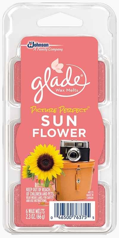 Glade® Wax Melts - Picture Perfect™ Sun Flower