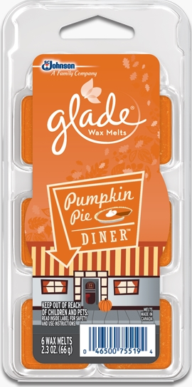 Glade® Wax Melts - Pumpkin Pie Diner™