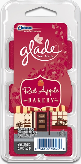 Glade® Wax Melts - Red Apple Bakery™
