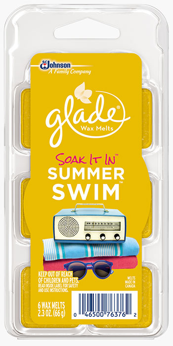 Glade® Wax Melts - Soak It In™ Summer Swim™