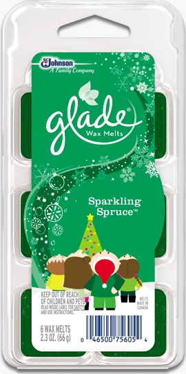 Glade® Wax Melts - Sparkling Spruce™