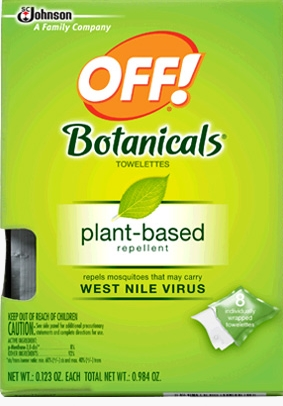 OFF! Botanicals® Towelettes