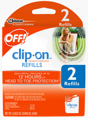 OFF!® Clip-On™ Mosquito Repellent Refills