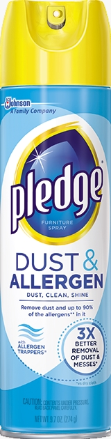 Pledge® Dust & Allergen
