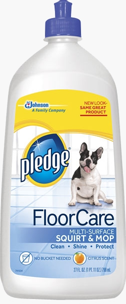 Pledge® FloorCare Multi Surface Squirt & Mop