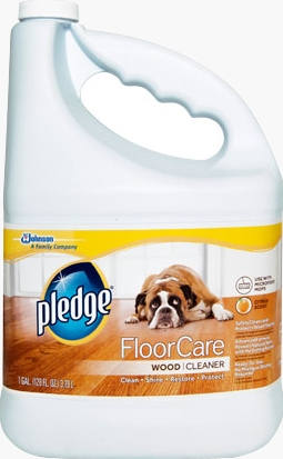 Pledge® FloorCare Wood Cleaner Gallon