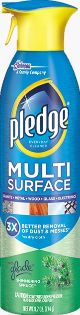 Pledge® Multi Surface Everyday Cleaner with Glade® Shimmering Spruce™
