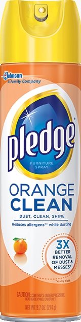 Pledge® Orange Clean